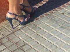 sexy high heels mother