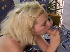 Smoking Fetish - Blonde Blowjob 01
