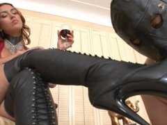 MJ - Boot Hump and Cum Eating