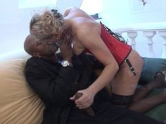 MILF ass gets stretched by big black dick