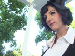 MILF nanny Roxanne Hall in hot threesome with two new students