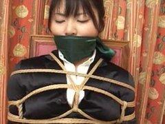 Japanese women costume rope tied 1