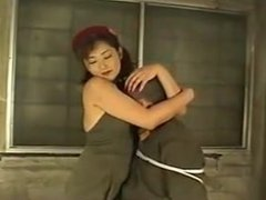 Japanese Army Girl Femdom Fuck