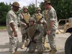 Real military men jacking gay Explosions, failure, and punishment