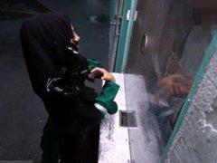 Ass facial threesome Desperate Arab Woman Fucks For Money