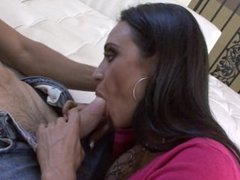 Big tit latina MILF Claudia Valentine wants a good fucking