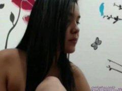 Chubby Arab Egypt Masturbates On Webcam