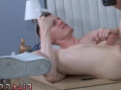 Fist gay man ass image Brian Bonds and Axel Abysse move to the office and