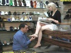 shoe store foot worship 3
