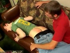 Video dad spanks boys and gay twink spanking cartoons His butt is given a