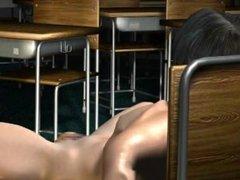 [3D HENTAI] UMEMARO Vol.7 Lewd bomb bust female teacher