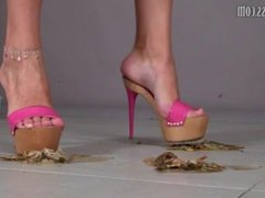 high heels crushing