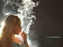 Heavy Smoking Blonde