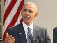 Hot ebony Obama speech about trump with big ass
