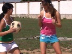 Lesbians having sex big boobs Sporty teens slurping each other