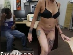 Latex brunette creampie Fucking Your Girl In My PawnShop