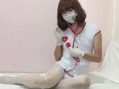 Nurse PP Part 1 Tease and Toy (Crossdresser with Toy)
