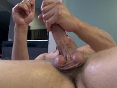 Active Duty: Army Hunk Jerks Big Cock