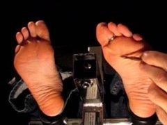 Slipper Removal Feet Tickle