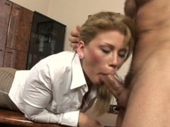 Secretary with amazing body fucked by her boss