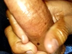 Asian Monster oily cock Ride on title pussy