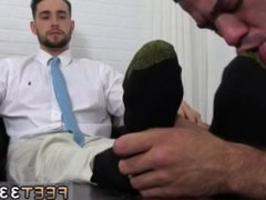 Male feet fuck and hairy black leg men video gay sex KC's New Foot & Sock