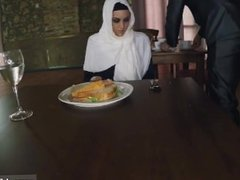 Arab white girl and arab king tumblr Hungry Woman Gets Food and Fuck