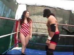 Lucky O'Shea vs. Woman Punisher