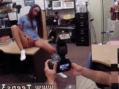 Fake agent uk big tit brunette Desperate nurse will do anything for cash