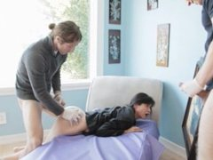 MILF Dana Vespoli wants to be anal dominated by two guys at once