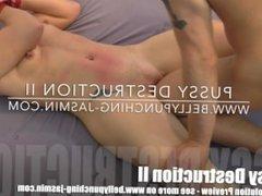 Cunt Busting pussy torture for BDSM Girl Jasmin extrem crotch torture