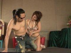 Ren Mizumori endures harsh sex in crazy group sex video