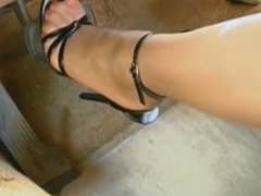 Nylons & High Heels Sandals
