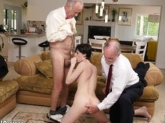Japanese old man and young sex and old man daughter Frankie heads down