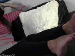 femdom feet worship feet lick
