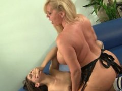 Women Tribbing Teens 2 - Scene 1
