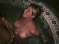 Sharing Wife in the Hot Tube