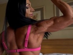Female muscle hot compilation
