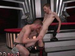 Gay self fist Slim and sleek ginger hunk Seamus O'Reilly thumbs Matt