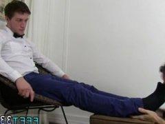 Gay twink emo boys feet movies first time Logan's Feet & Socks Worshiped
