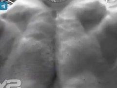 Bodybuilder Training For Show