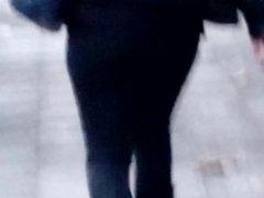 City LIEGE ( Belgium ) spy cam ass filmed