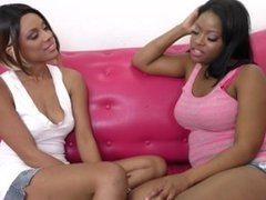 Monique Symone And Verta Lesbian Pleasure