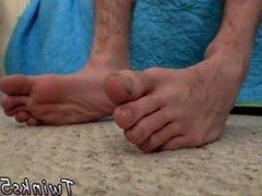 Black men feet gay porn movies and boys feet bbs Splashing Cum Over His