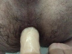 Playing with my new Dildo - RealRock 23cm long