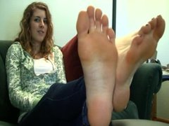 Ashlyns Candid Stinky Soles Part 11