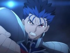 Fate/Stay Night: Unlimited Blade Works- Lancer vs Archer Full Fight