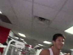 Out in Public Gay Gym Sex