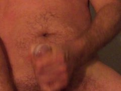 I cummed on his cum and he filmed me and I had a dildo in mys ass! Hot!!
