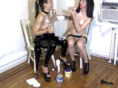 Making Special Crisco Biscuits with a Dominatrix and and TV personality